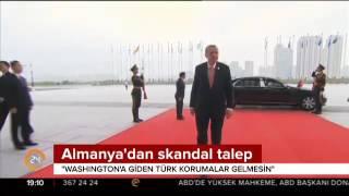 Almanya'dan skandal talep: Washington'a giden Türk korumalar gelmesin
