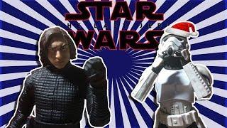 Star wars The Last Jedi (Kylo ren hates Christmas) Stop-motion parody