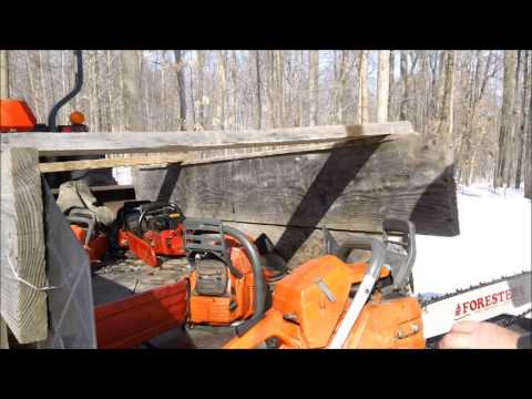 Huztl Big Bore Saw vs. Husqvarma 365 372 hybrid & Philosophy of these video s 5 of 5
