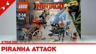 [CONSTRUCTION] The LEGO Ninjago Movie : Piranha Attack [FR]