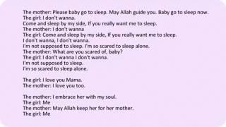 i love you mama english lyrics