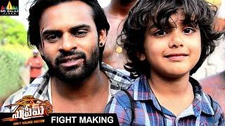 Supreme Fight Making Video | Sai Dharam Tej, Raashi Khanna | Sri Balaji Video