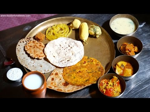 Best Gujarati Thali in Ahmedabad   Indian Food Taste Test S2EP03
