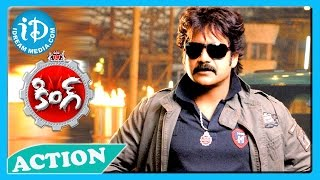 King Movie - Back2Back Action Scene - Akkineni Nagarjuna