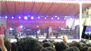 জেমস এর লাইভ পারফরমেন্স (Jagannath university)