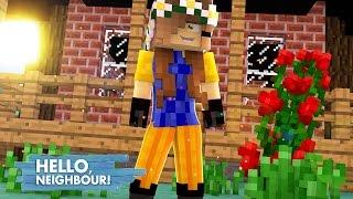 Minecraft: HELLO NEIGHBOR - MEU VIZINHO VIROU MULHER