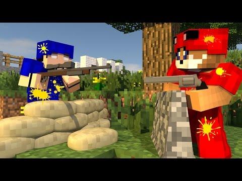 Minecraft ARENA DE PAINTBALL 69 Meu Amável Mundo