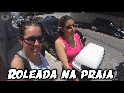 Roleada na praia Daily Vlog