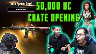 50,000 UC CRATE OPENING | FINALLY I GOT EVERYTHING | PUBG MOBILE | Kronten Gaming