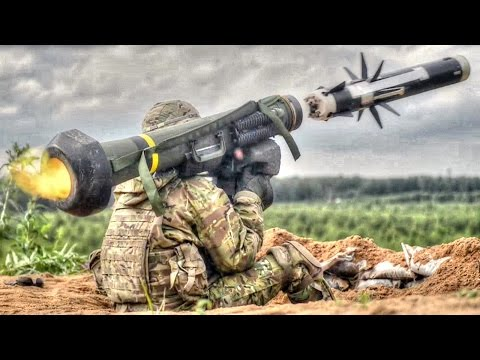 Army Soldiers Fire Javelin Anti-Tank Missile
