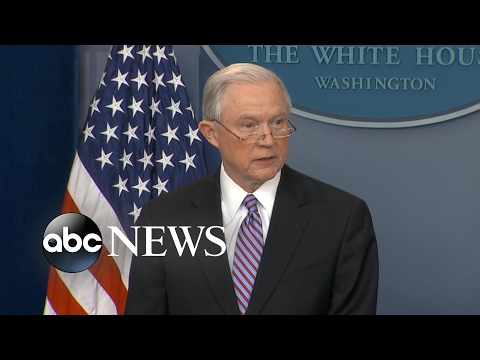 AG Jeff Sessions takes aim at sanctuary cities says DOJ will cut funding