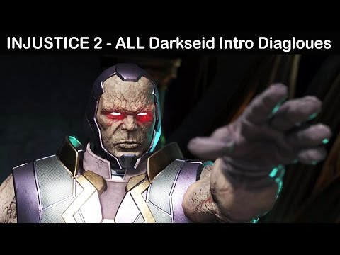 Injustice 2 - All Darkseid Intro Dialogues (COMPLETE)