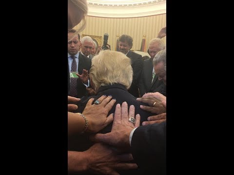Praying for the President What Really Happened at the White House