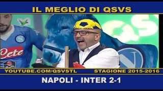 QSVS - I GOL DI NAPOLI - INTER 2-1 TELELOMBARDIA / TOP CALCIO 24