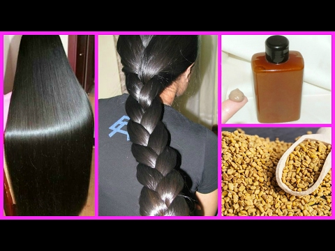 How to get Long Hair, Soft Hair, Smooth Hair and Healthy Hair with Methi - Magical Remedy