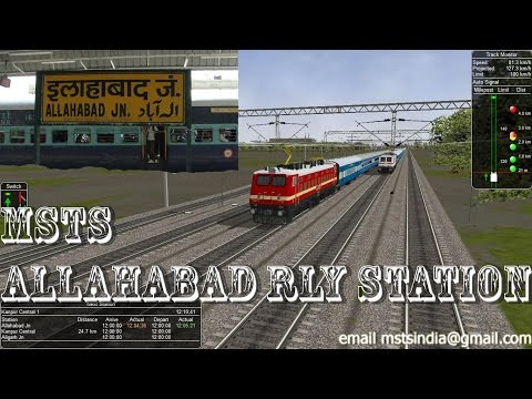 Xxx Mp4 MSTS Indian Railways Real Train Station Experience Allahabad Junction 3gp Sex