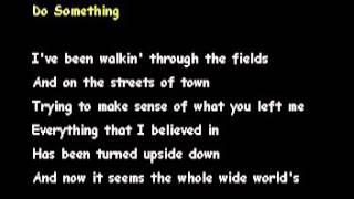 DO SOMETHING -THE EAGLES[KARAOKE]