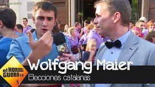 Wolfgang Maier en las elecciones catalanas - El Hormiguero 3.0