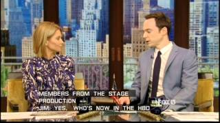 Jim Parsons on Live with Kelly&Michael June 10, 2014 Part 1