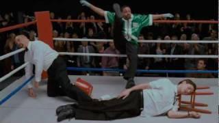 Scary movie boxing scene