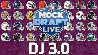 2018 NFL 1st Round Mock Draft & Analysis | DJ 3.0