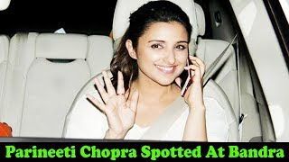 Gorgeous Girl Parineeti Chopra Spotted At Bandra