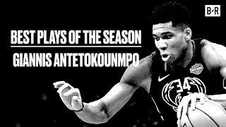 Giannis Antetokounmpo's Top Ten Most Ridiculous Plays This Season