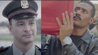 مشهد جنازة منصور القناوي - مسلسل نسر الصعيد - محمد رمضان