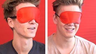 Joe Sugg & Caspar Lee do the Blindfold Drawing Challenge!