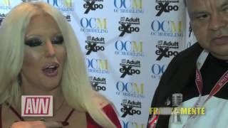 FRANK@MENTE ESPECTACULAR TV SHOW  INTERVIEW ALURA JENSON AT THE AVN AWARDS