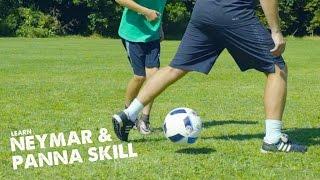 Learn Neymar move & Panna skill with Leo and STR ad