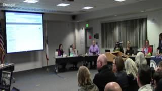 Sesión ordinaria de la Mesa Directiva de Educación del MUSD - 2/27/17