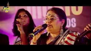 Usha Uthup sings her hit songs at the #MMAwards Red Carpet |