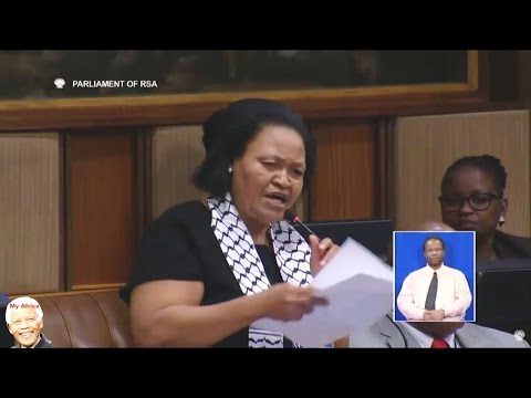 Disgusting!  ANC MP Can't Read ....
