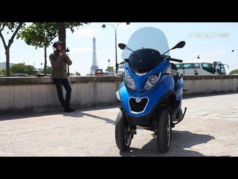 Essai Piaggio MP3 500 LT ABS ASR 2014
