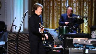 Paul McCartney e Stevie Wonder - Ebony and Ivory // Dal vivo alla Casa Bianca 2010