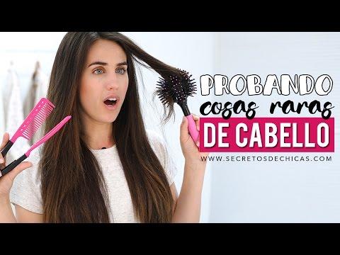 PROBANDO productos raros del cabello ¿Funcionan o no