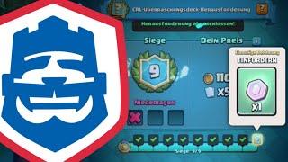 9 Siege CRL CHALLENGE? | Alle 6 Decks erklärt! | Clash Royale deutsch
