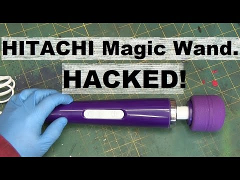 BOLTR Hitachi MAGIC WAND modded to USB Power Bank.