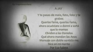 Cancion de ANA BLANCO Like Ana White LETRA T Challa x A Jay x K Geezy