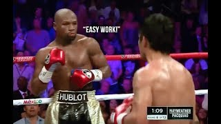Floyd Mayweather Makes His Opponents Look Like Amateurs