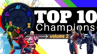 Top 10 MCOC Characters - Volume 2 | Marvel Contest of Champions