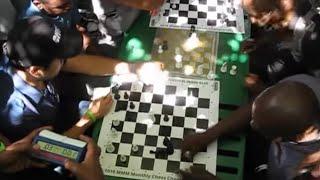 Hikaru Nakamura Vs South African Chess Hustler: French Defense