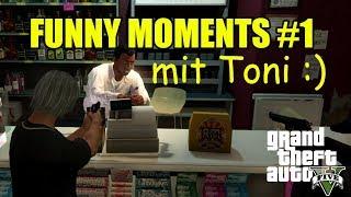 FUNNY RANDOM GTA5 MOMENTS #1 mit Toni :)