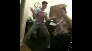 Girl farts giving lapdance