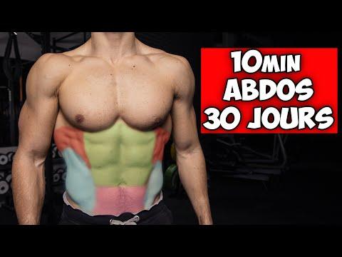 10min d'abdos pour un ventre parfait en 30jours