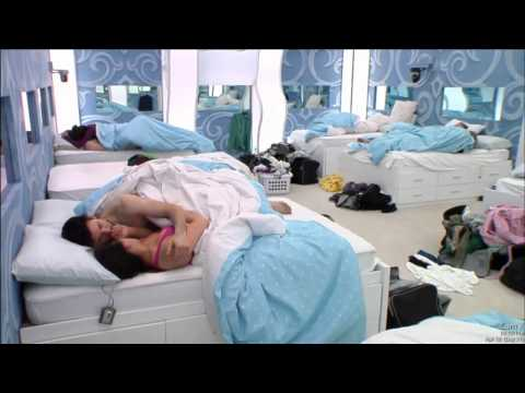 kevin and pili kiss in the bedroom 4/18/15
