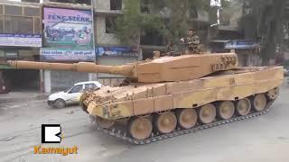 ဆီးရီးယား အာဖရင္ကို တူရကီ အျပည့္အဝ ထိန္းခ်ဳပ္လိုက္ၿပီ
