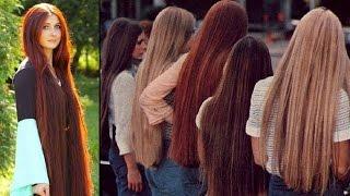 SUPER LONG HAIR WOMEN - BEAUTIFUL WOMEN WITH LONG HAIR