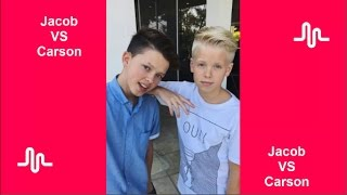 The Best Musical ly Compilation l Jacob Sartorius VS Carson Lueders
